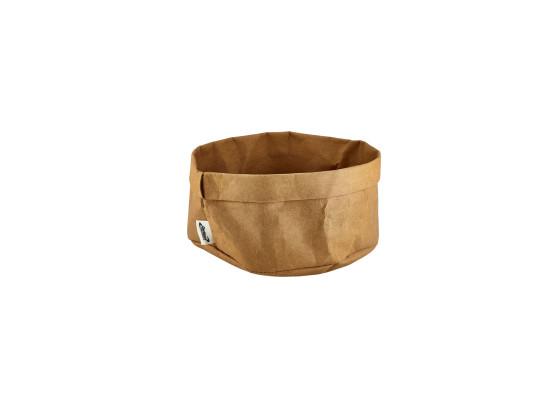 Leipäpussi ruskea K 14 cm Ø 20 cm