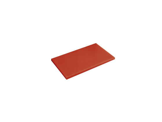 Leikkuulauta punainen muovi 60x40x2 cm