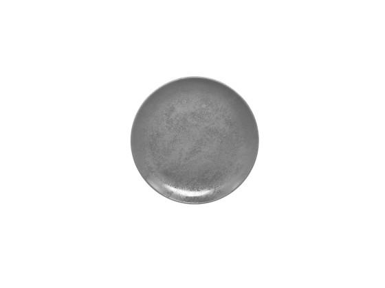 Lautanen reunaton harmaa Ø 24 cm