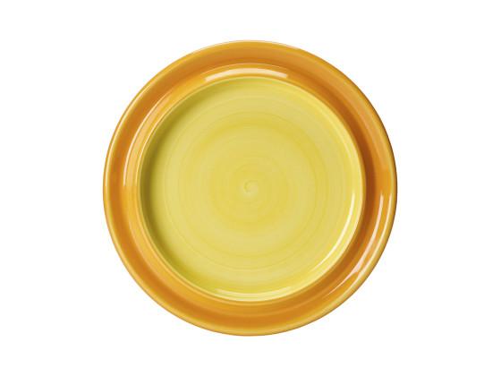 Lautanen erikoissyvä keltainen Ø 25,5 cm