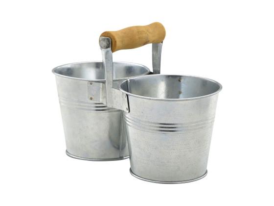 "Snack-astia ""tupla-sanko"" 2x Ø 10 cm 50 cl"