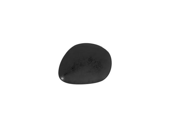 Lautanen musta 20x16 cm