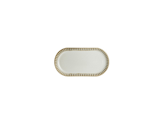 Lautanen soikea valkoinen 30x16 cm