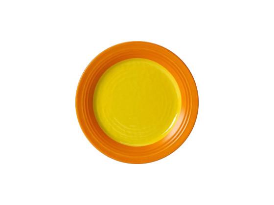 Lautanen melamiini keltainen Ø 23 cm