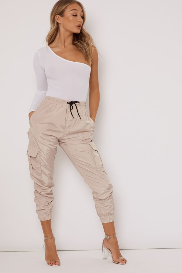 b0e7e9c5c31 Amerzy Stone Cargo Trousers by In The Style