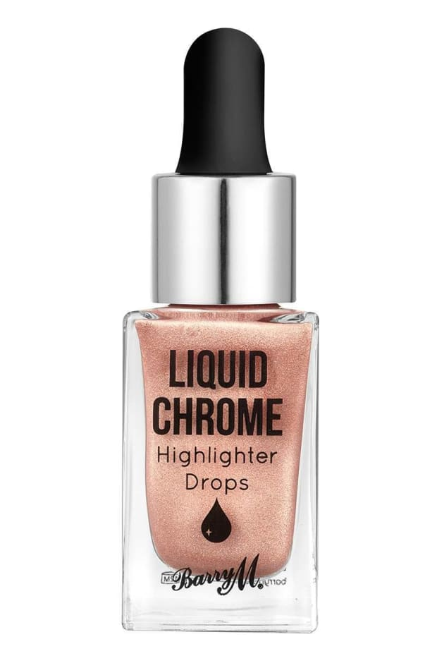 BARRY M LIQUID CHROME HIGHLIGHTER DROPS AT FIRST LIGHT