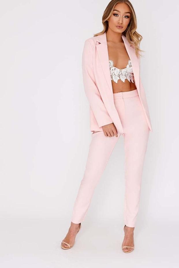 ddb0175cd656 Nessie Baby Pink Blazer