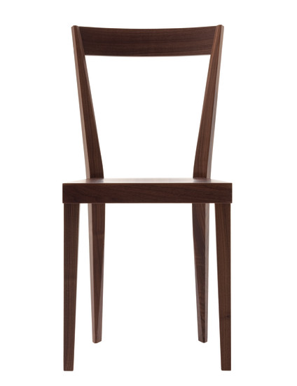 Livia: Chair available in different finishings