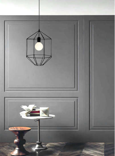 Lori: Pendant lamp available in different finishings