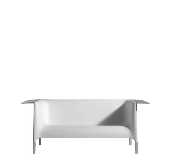 Out/In: Sofa available in different finishings