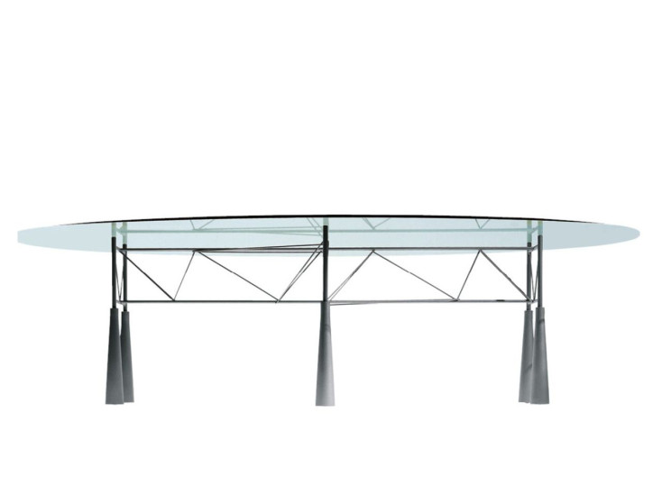 Lybra: Table available in different sizes