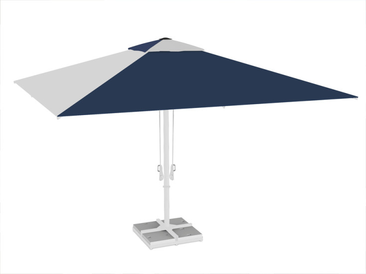 Adone Plus: Giant umbrella in different sizes and finishings