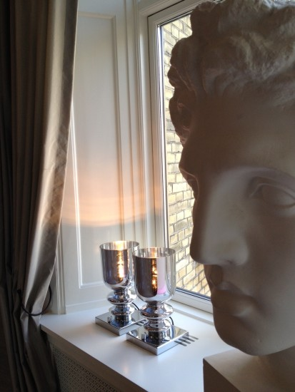 Messalina TA Small: Table lamp in different finishings