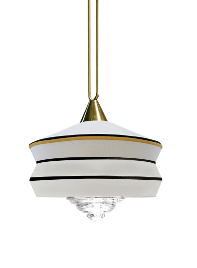 Calypso Antigua: Suspension lamp in different finishings