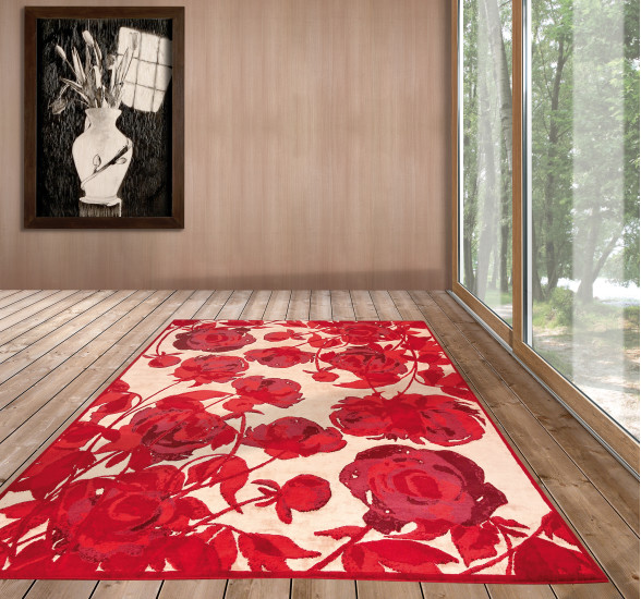 Passion Red: Rug 240 cm x 300 cm