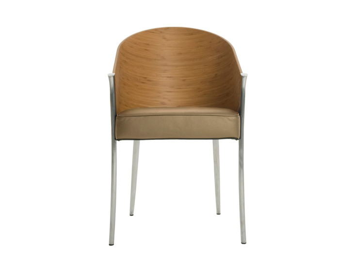King Costes: Armchair with shell in bamboo