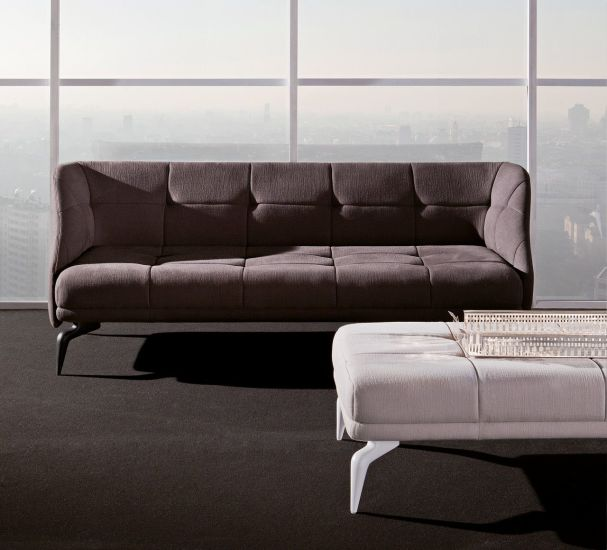 Leeon: 3 seater sofa in different finishings