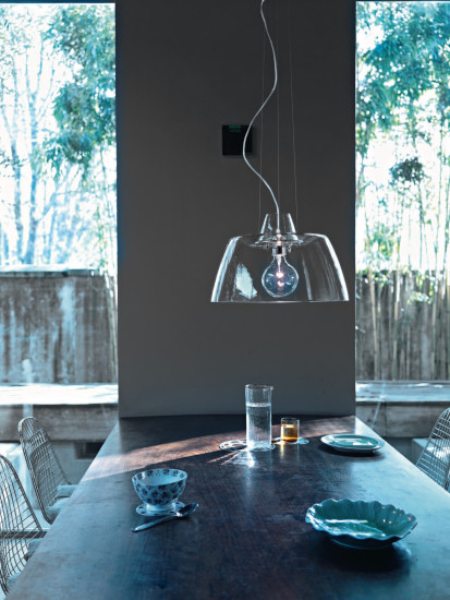 Squeezer: Suspension lamp available in different version