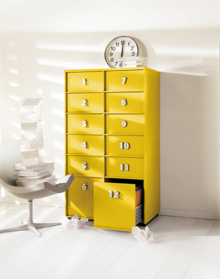 Toolbox: Drawer unit W 81.5 cm D 52 cm available in different layouts