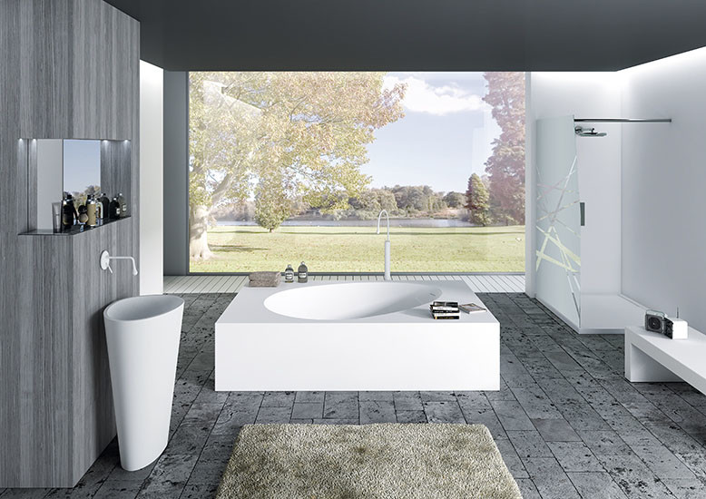 Aki: Free standing bath in different sizes
