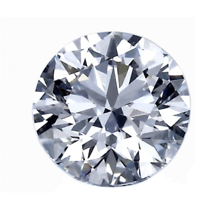 1.00 Carat F Color VS2 Clarity Round Diamond Certified by GIA