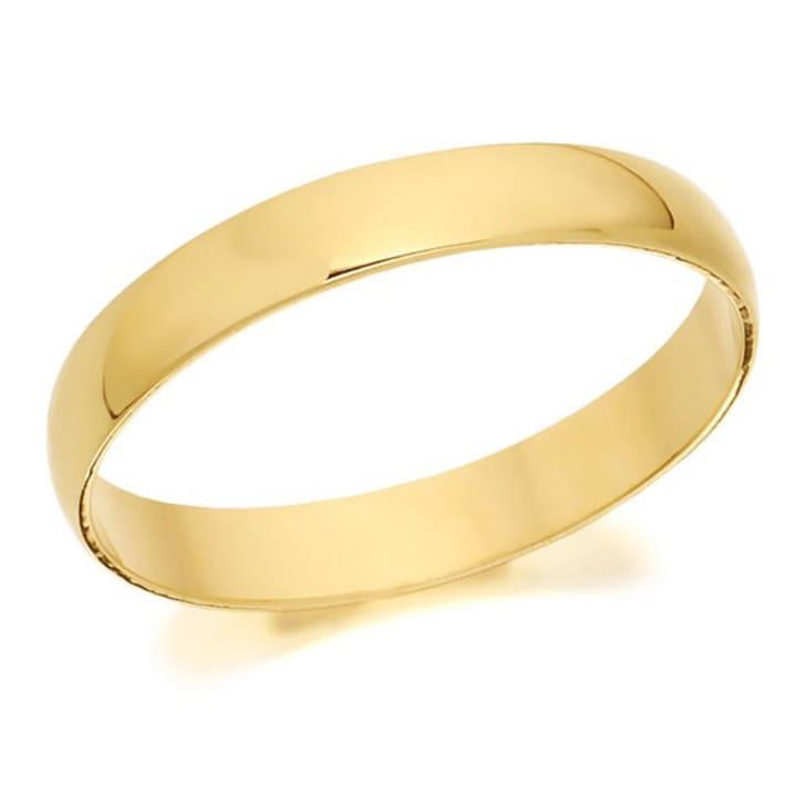 แหวนทอง - 18K 3 mm Comfort fit classic