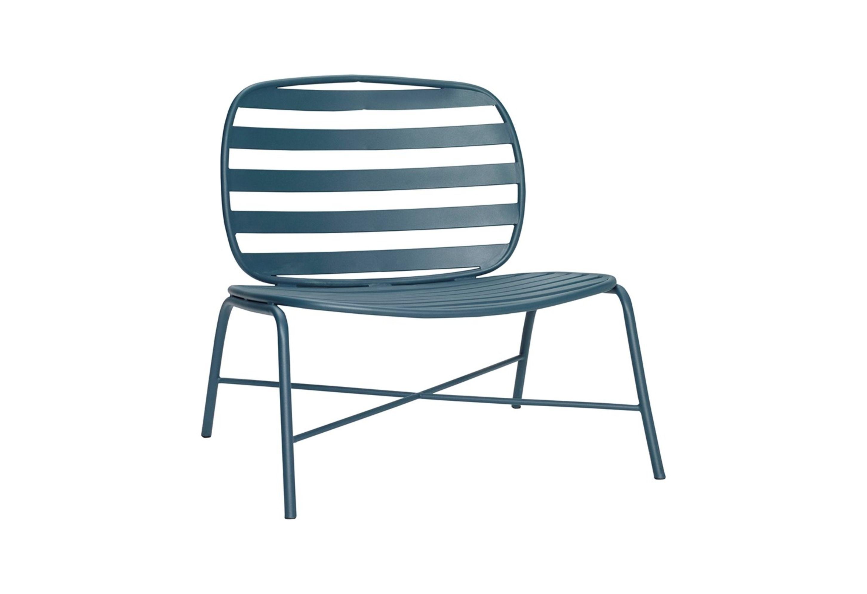 Hübsch Lounge Sessel Metall