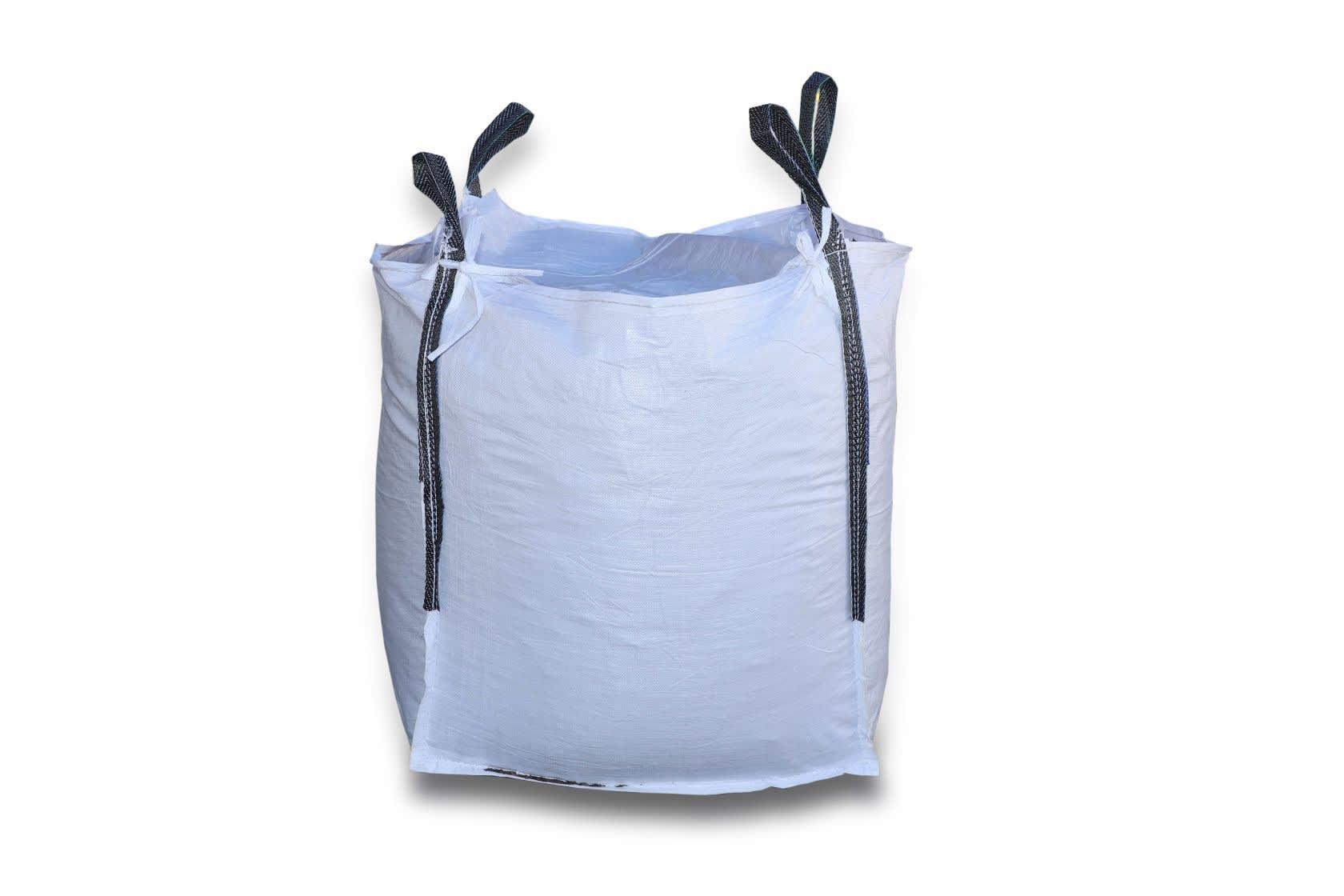 1.0 Tonne - U Panel - Top Lid / Flap Closed Bottom Bulk Bag