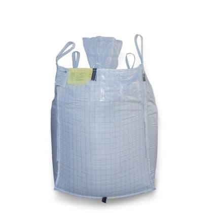 1.5 Tonne - UN Certified - Conductive Spout Top Spout Bottom - Bulk Bag - 92 x 92 x 120 CM