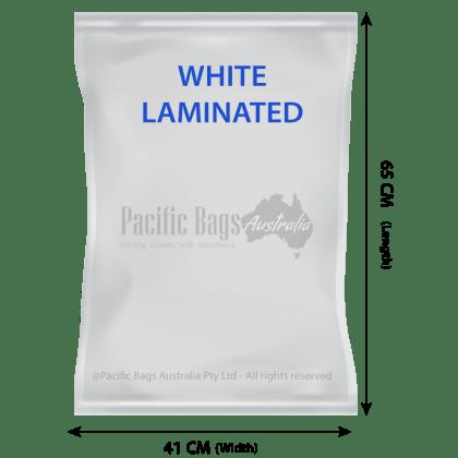 Woven Polypropylene- Laminated Feed Bags - 41 cm x 65 CM