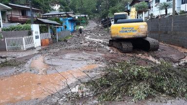 Cidades da região sofrem danos com chuva