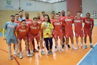 Joaçaba Futsal apoia judoca que vai disputar o Pan-Americano no Equador