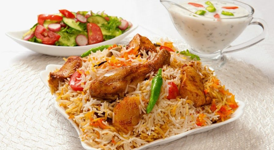 North or south India? Biryani, a favorite dish in India, can differ in flavor and style from region to region