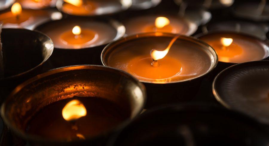 Butter lamp for worship Tibet Tours Enchanting Travels