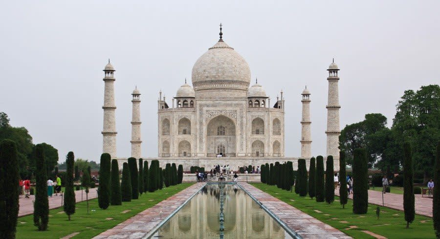 Panorama of Taj Mahal, Agra