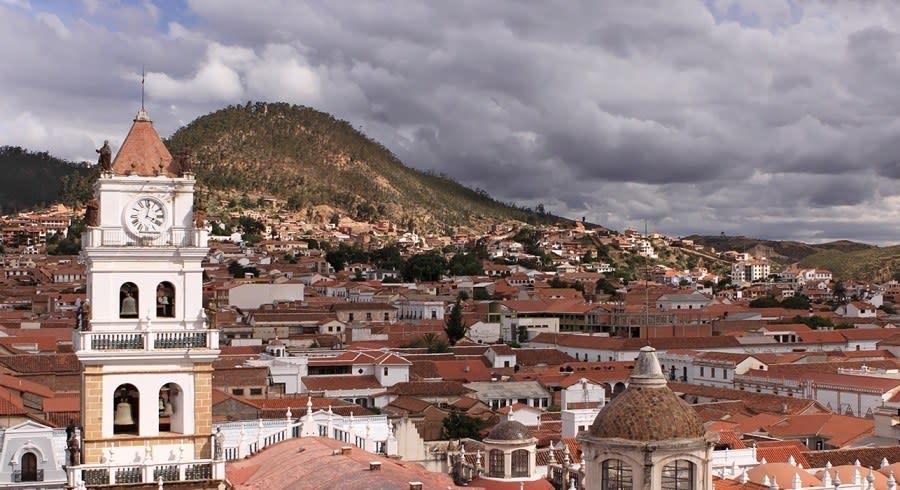 Panorama Bolivien Reiseziel Sucre