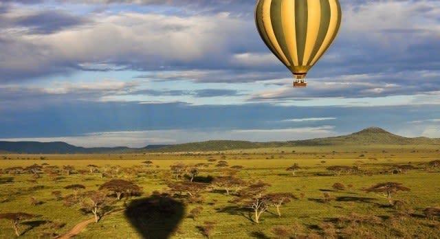 Ballonfahrt in der Serengeti