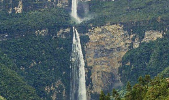 Gocta Wasserfall in Peru