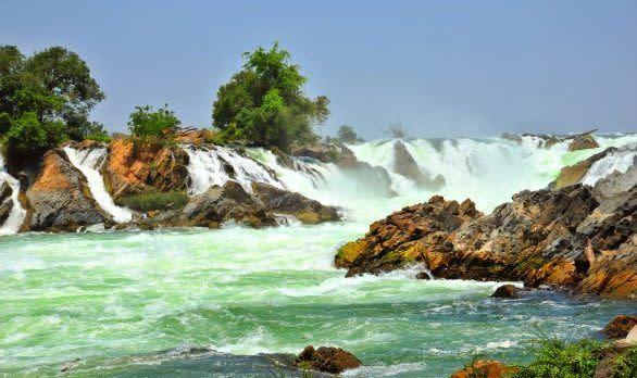 Khone Phapheng Wasserfälle