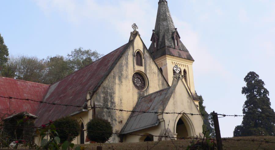 Alte Kirche in Darjeeling