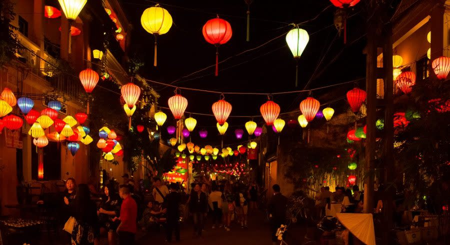 Laternenfest in Hoi An