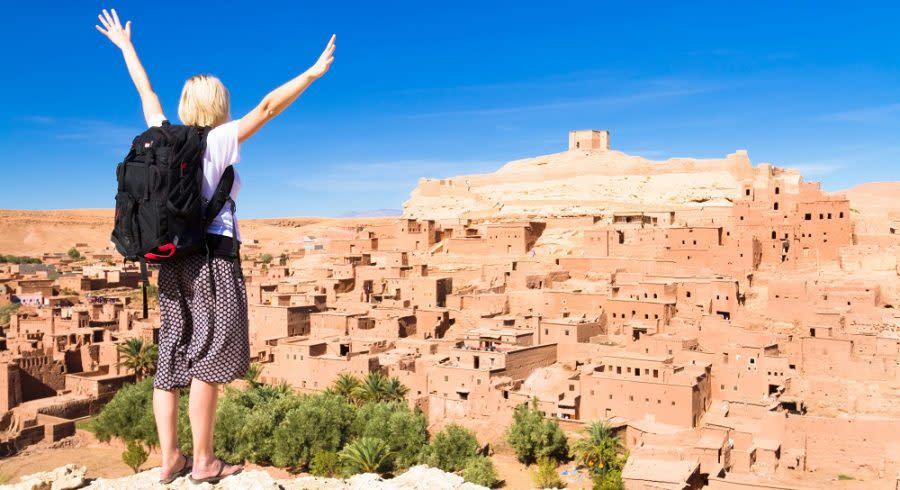 Aït Benhaddou auf der Karawanenstraße zwischen der Sahara und Marrakesch