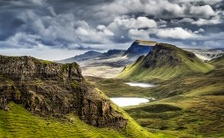 Mountains in Highlands, Scotland