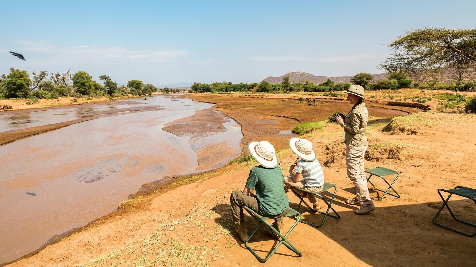 Ewasi Nyiro river in Samburu