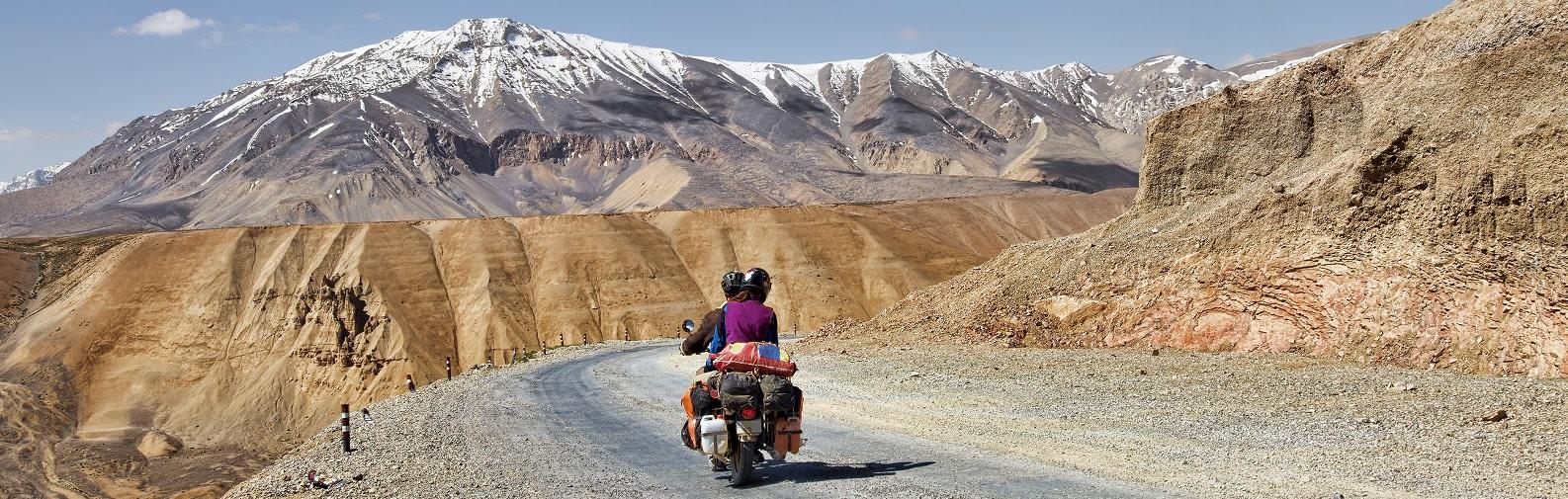 Bike ride in Leh, India