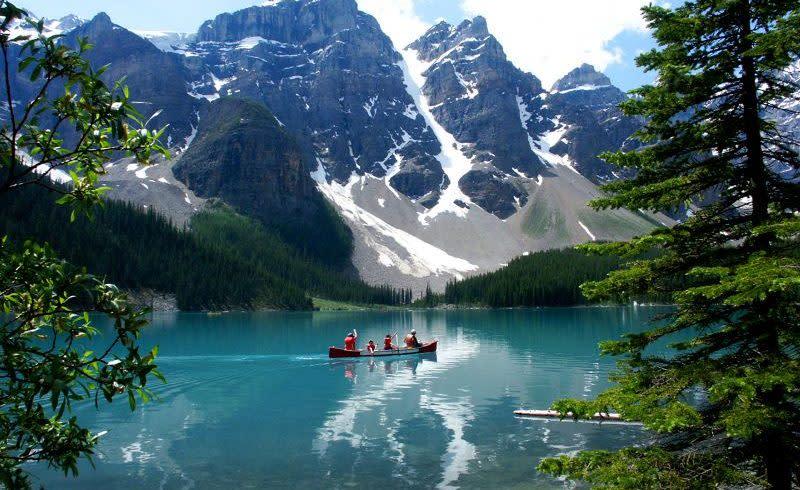 Canadian canoe trip