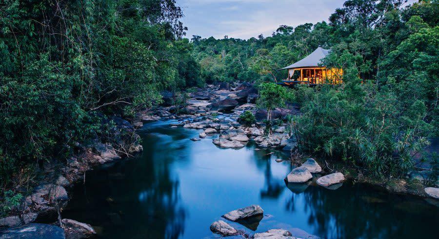 Shinta Mani Wild, Cambodia - best luxury vacation spots in the world