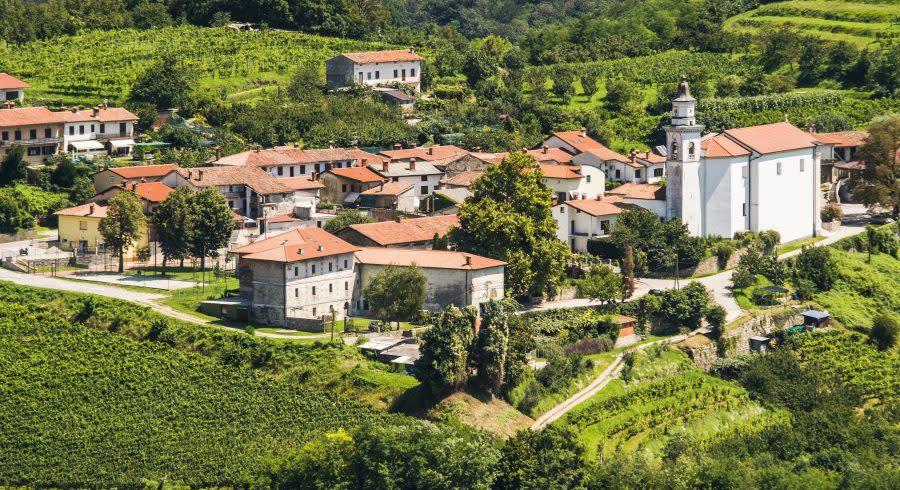 Villages in Goriska Brda - Top 10 Relaxing Holiday Destinations in Europe
