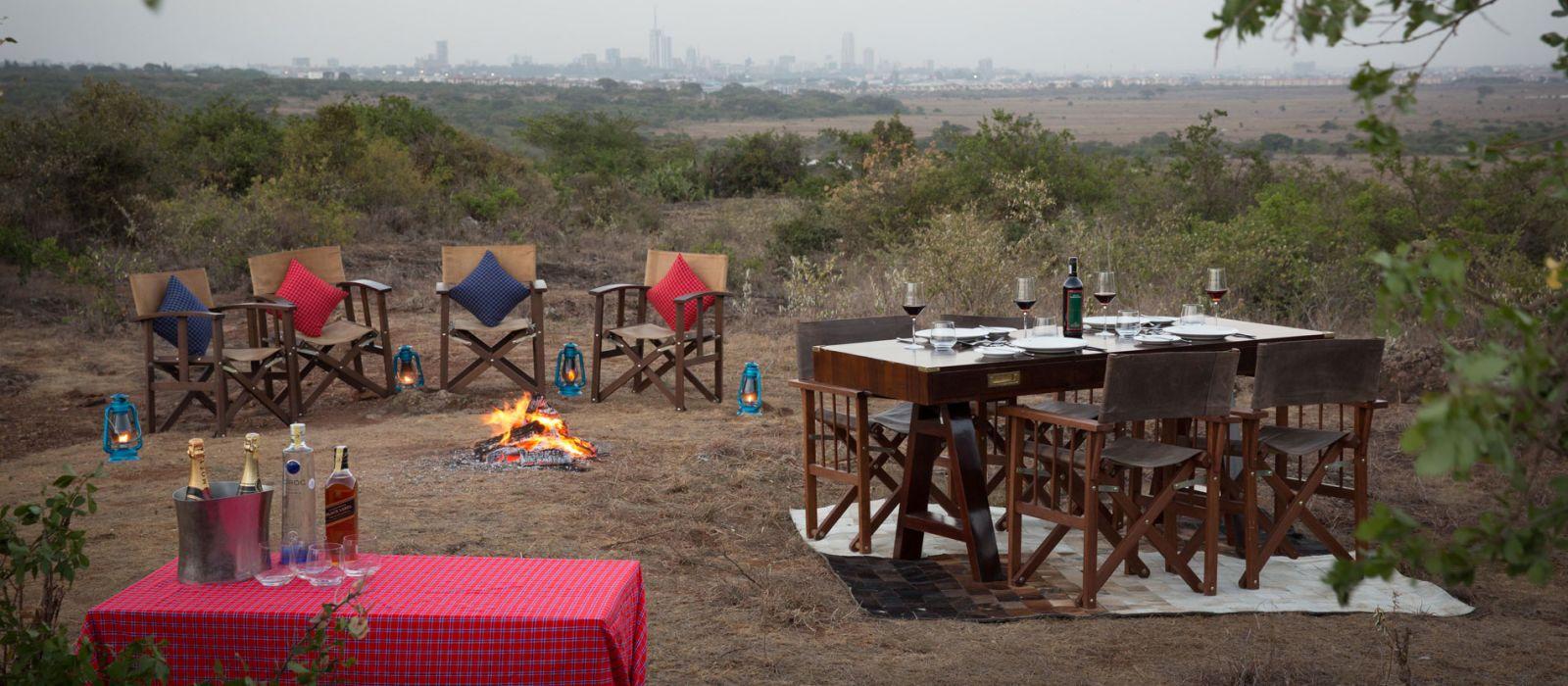 Hoch über Kenia: Safari & Strand Urlaub 2
