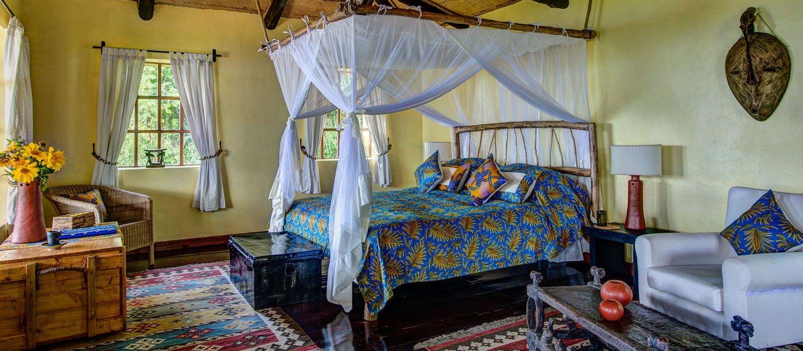 Hotel Virunga Lodge Ruanda